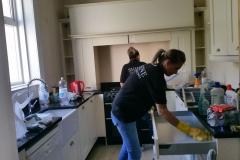 Our cleaning team